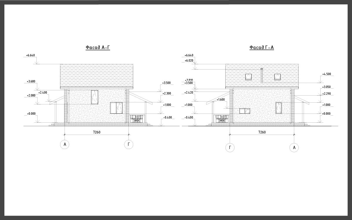 Проект дома ДП-6 фото 23991