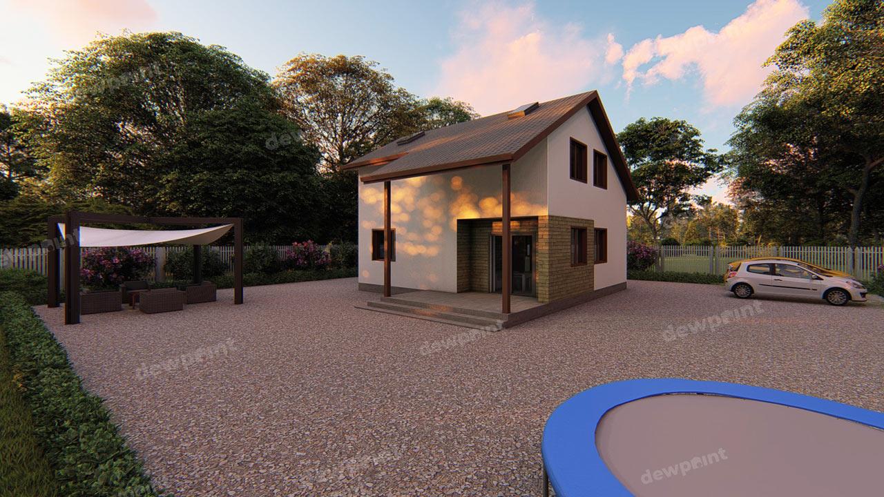 Проект дома ДП-12 фото 110040