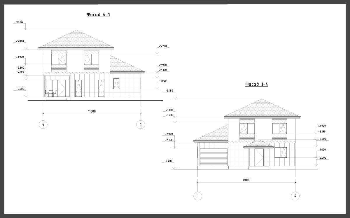 Проект дома ДП-11 фото 14625