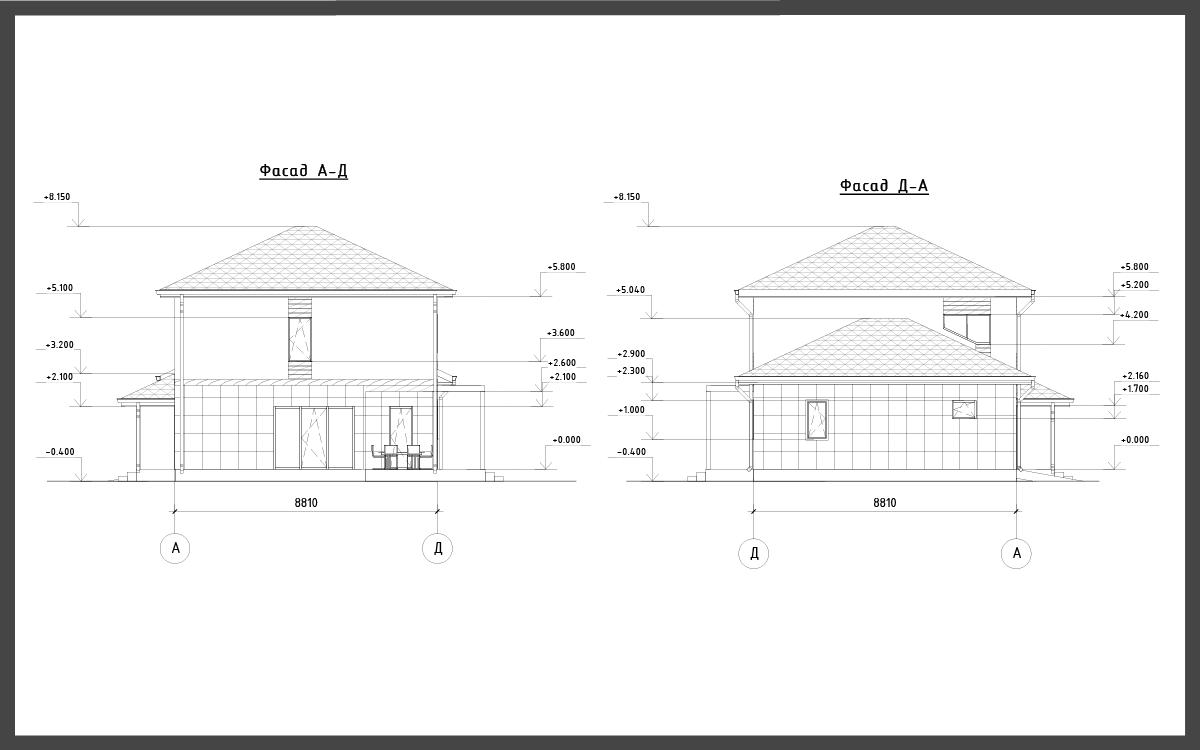 Проект дома ДП-11 фото 14624