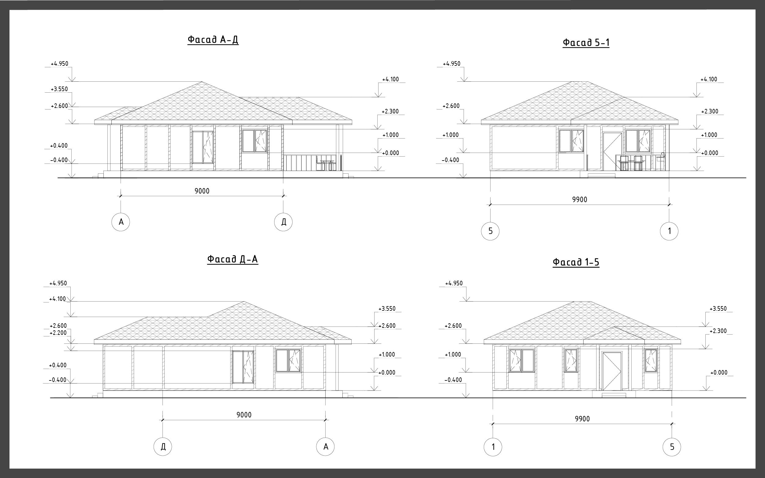 Проект дома ДП-3 фото 14934