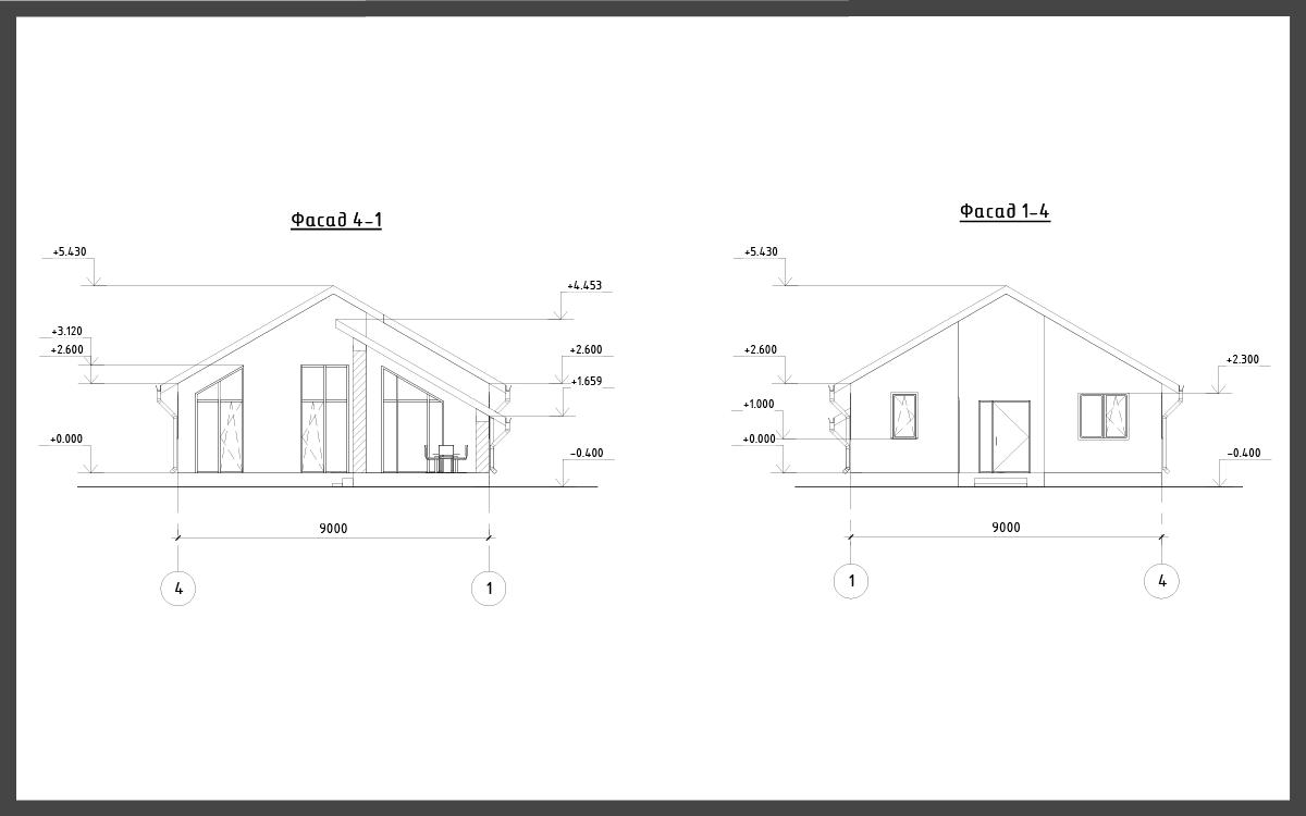 Проект дома ДП-5 фото 22032