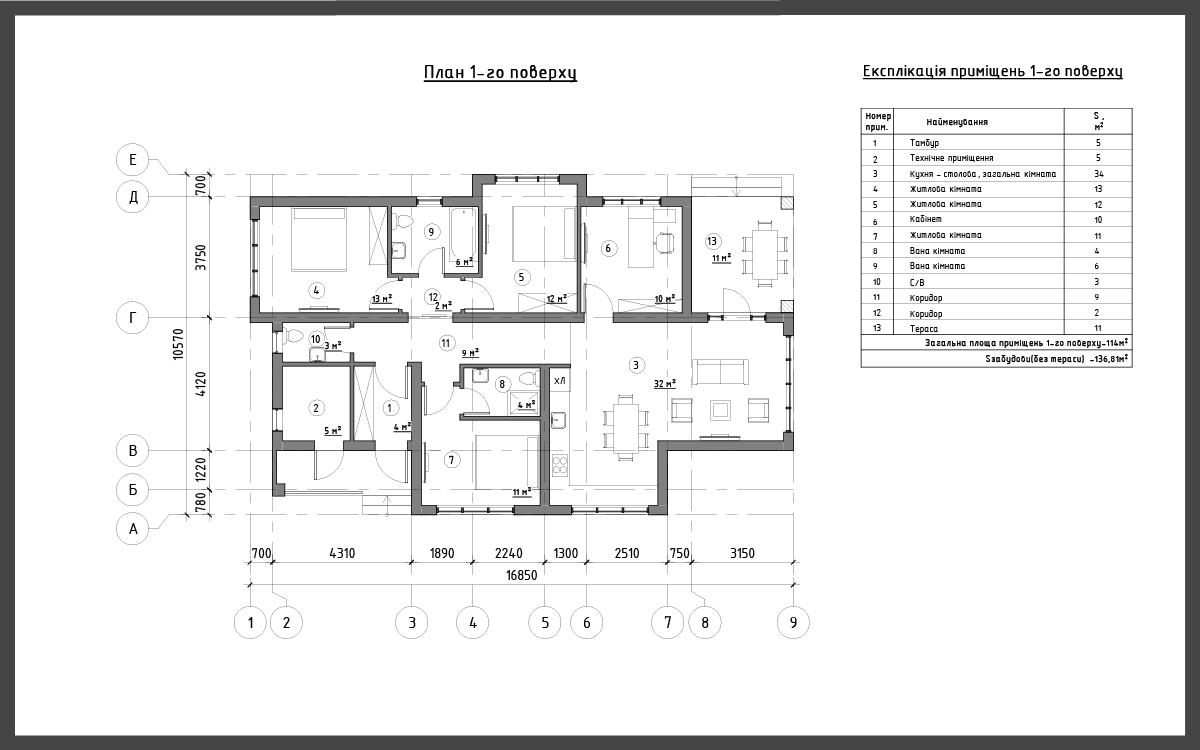 Проект дома ДП-7 фото 14988