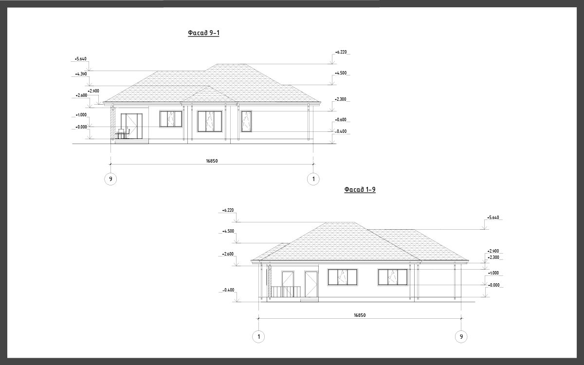 Проект дома ДП-7 фото 14986