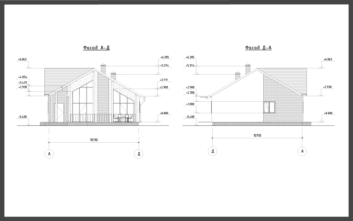 Проект дома ДП-8 фото 30495