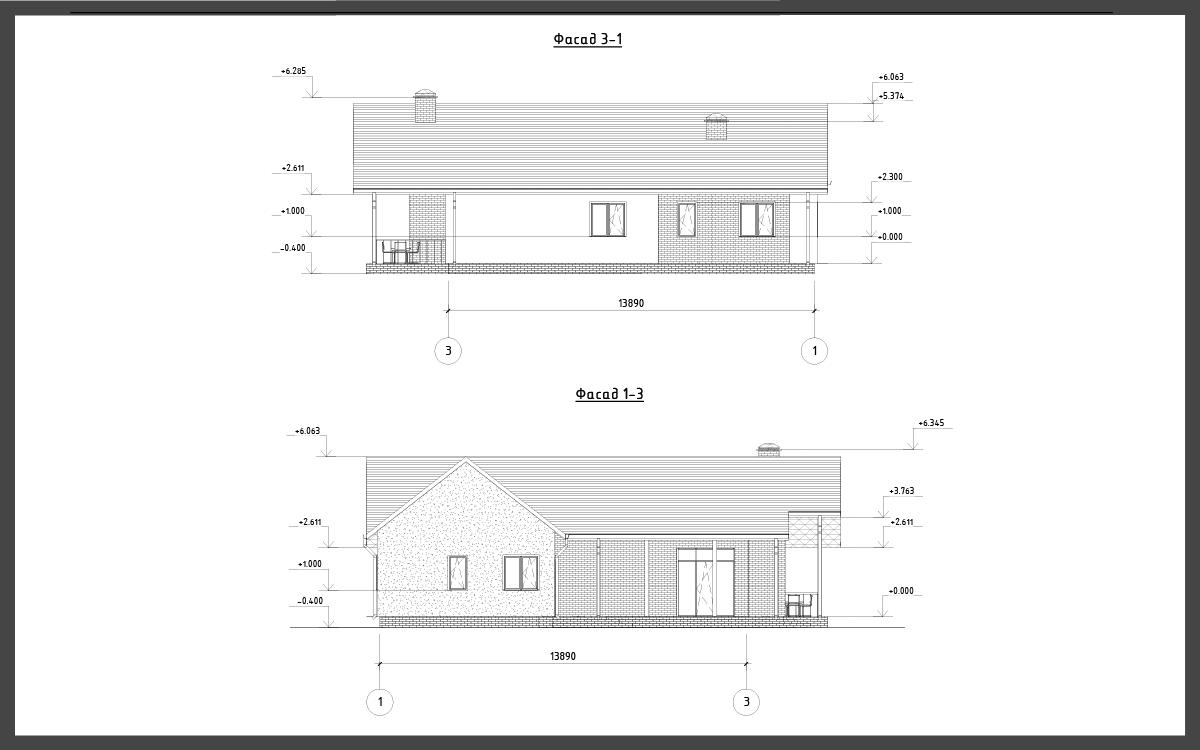 Проект дома ДП-8 фото 30496