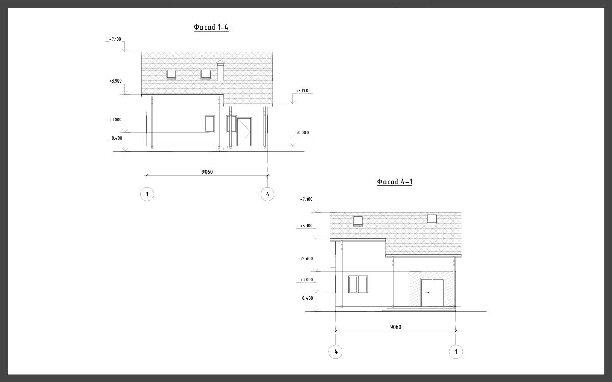 Проект дома ДП-12 фото 14659