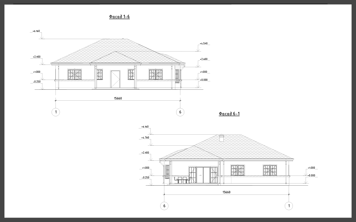 Проект дома ДП-13 фото 13870