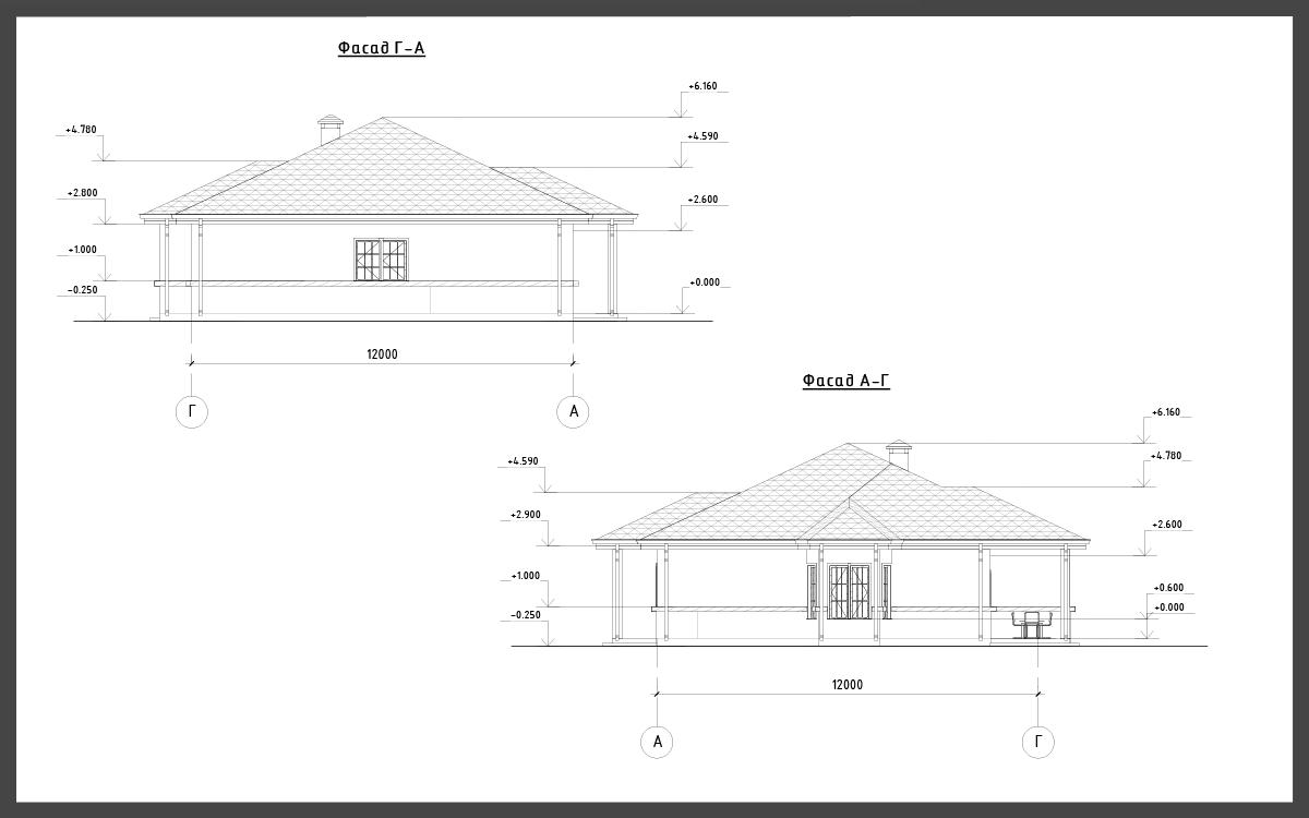 Проект дома ДП-13 фото 13871