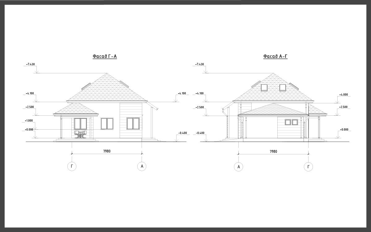 Проект дома ДП-14 фото 37296