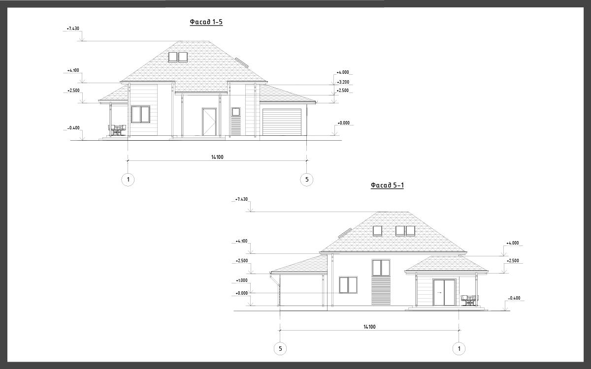 Проект дома ДП-14 фото 37294
