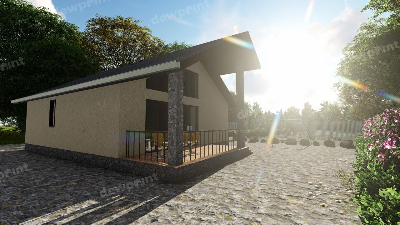 Проект дома ДП-2 фото 261438