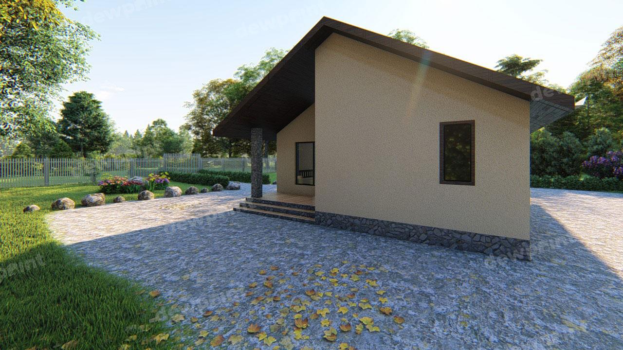 Проект дома ДП-02