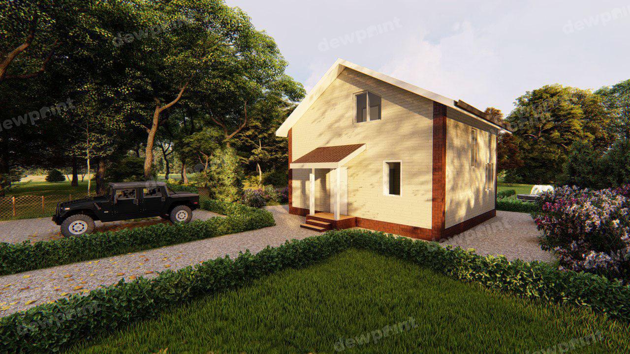 Проект часного дома ДП-06