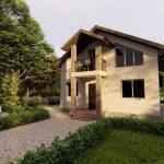 Проект дома с мансардой ДП-09