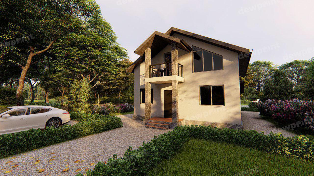 Проект дома ДП-9 фото 107763