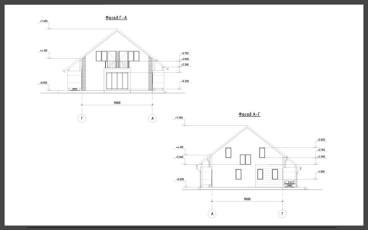 Проект дома ДП-15 фото 110137
