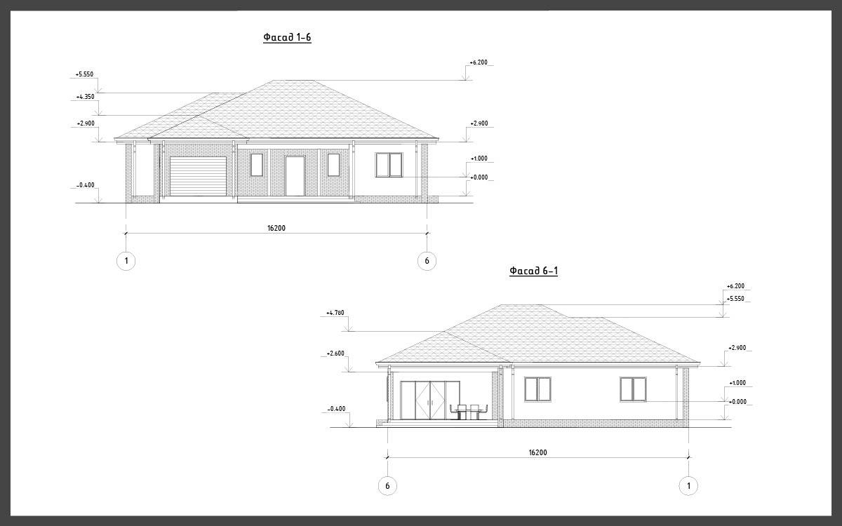 Проект дома ДП-17 фото 14812