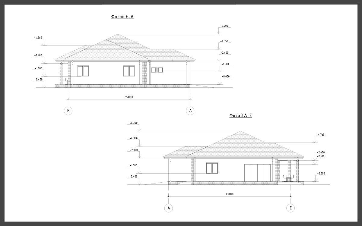 Проект дома ДП-17 фото 107746