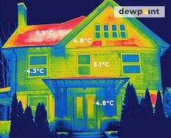 тепловизор дом