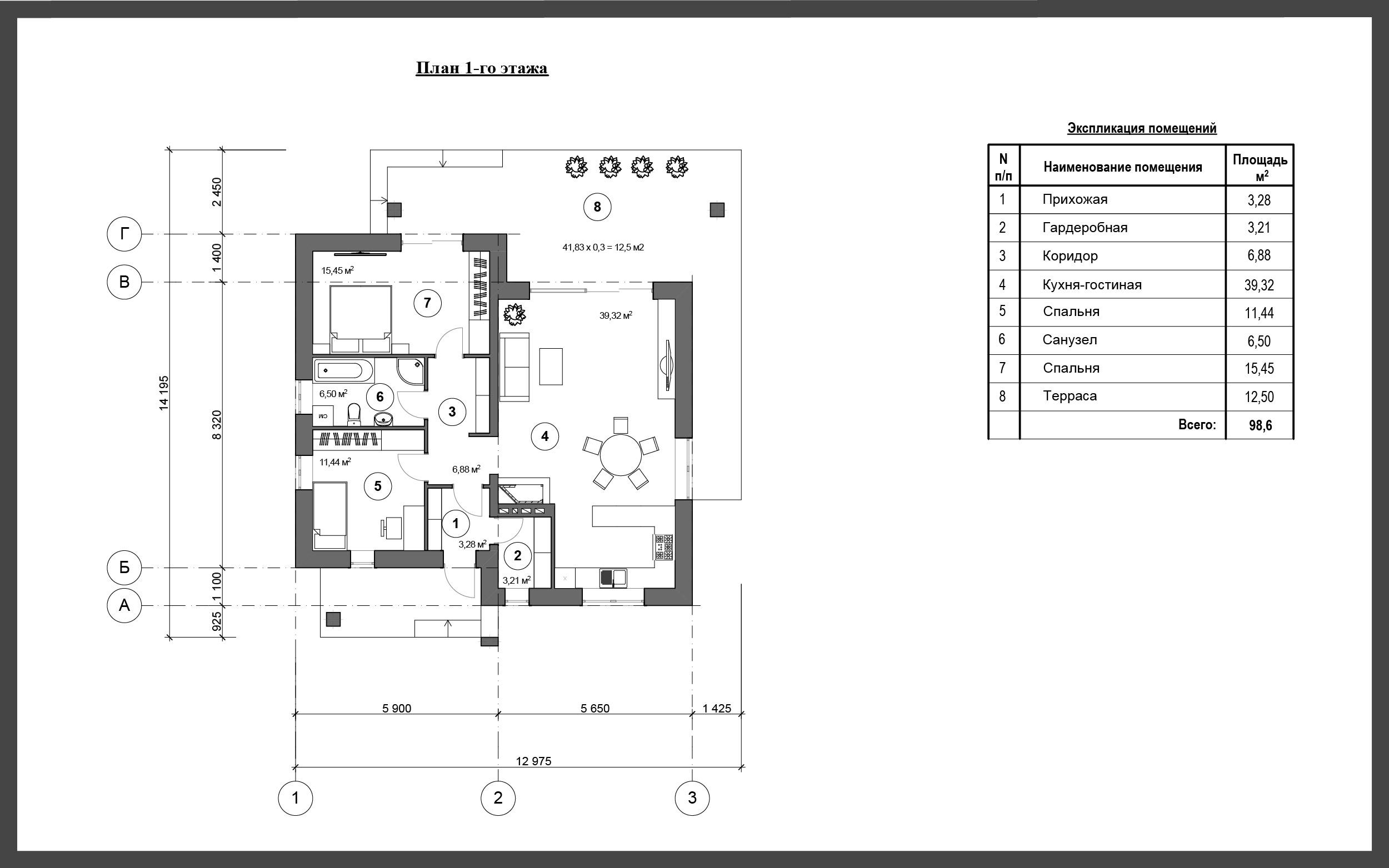 Проект дома ДП-18 фото 135653