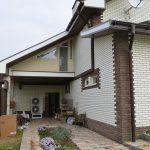 Объект: 2х этажный частный дом   Площадь дома : 200 м²    Адрес: Подгородное , Днепровская область