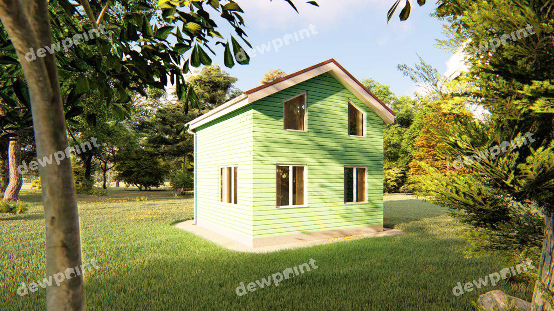 Проект дома ДП-22 фото 93011