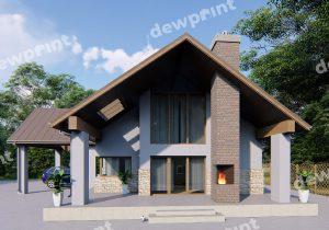 Незвичайні проекти будинків і котеджів фото 29655