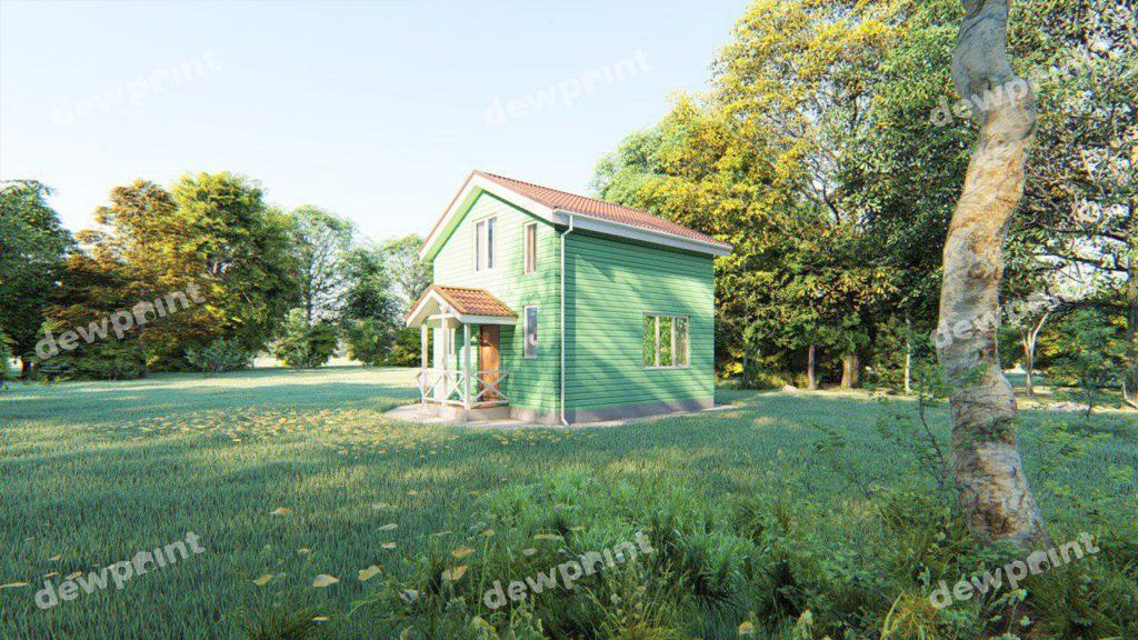 Дачні будинки фото 13672