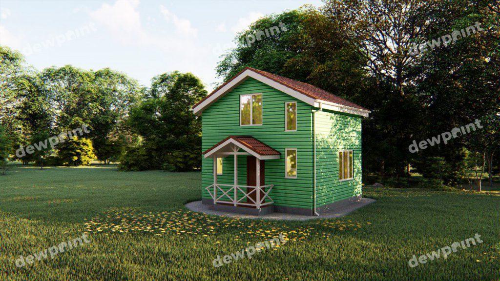 Дачні будинки фото 13671