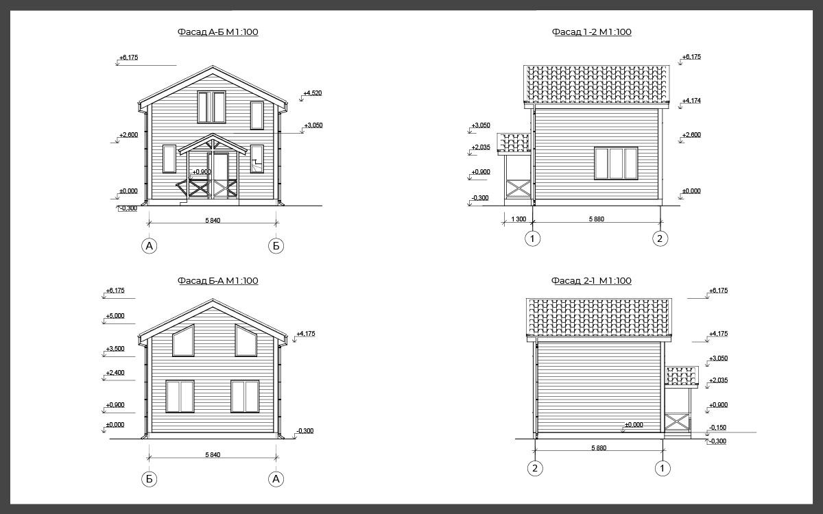 Проект дома ДП-22 фото 93017