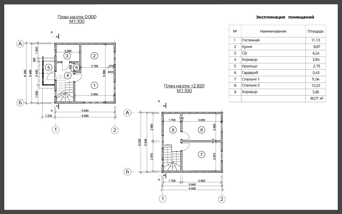 Проект дома ДП-22 фото 93015