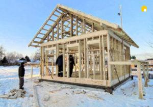 Строительство зимой фото 13934