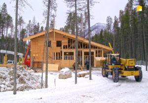 Строительство зимой фото 257189