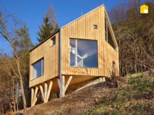 Дом на склоне фото 13741