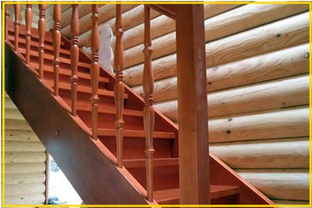 Лестница в частном доме фото 28477