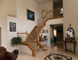 Лестница в частном доме фото 371578
