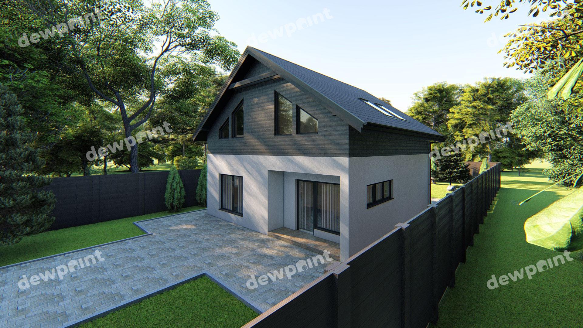 Проект дома ДП-23 фото 261407