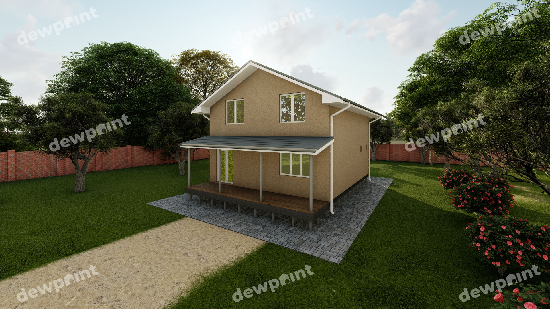 Проект дома ДП-24 фото 29915