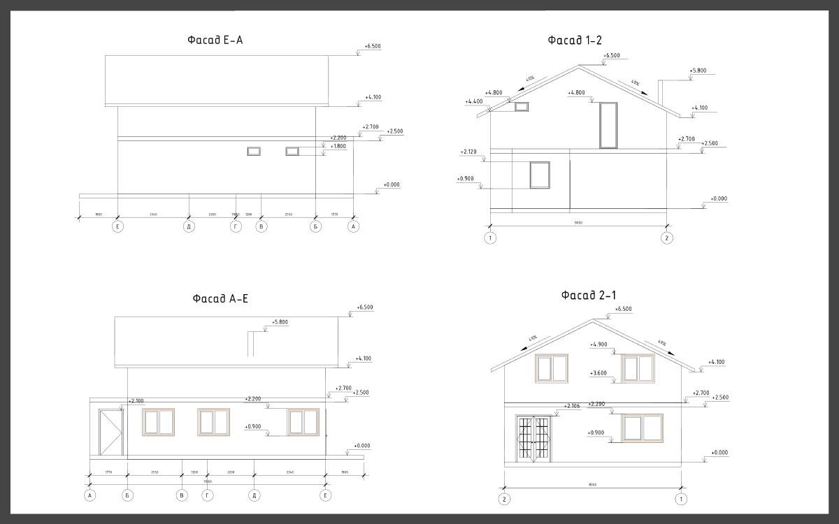 Проект дома ДП-24 фото 61179