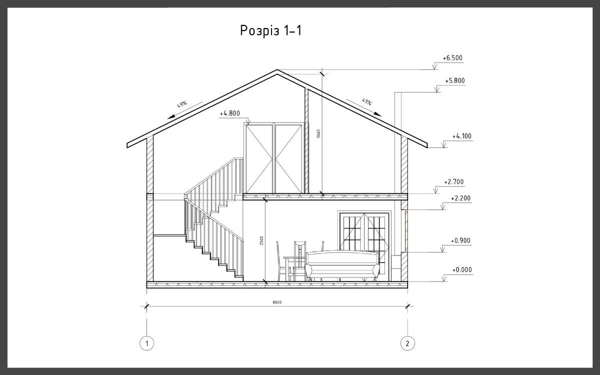Проект дома ДП-24 фото 61180