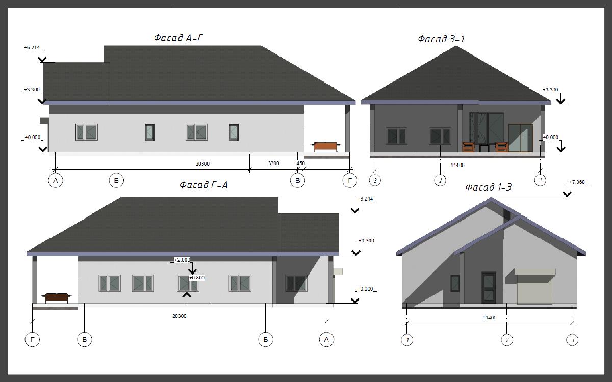 Проект дома ДП-27 фото 17878