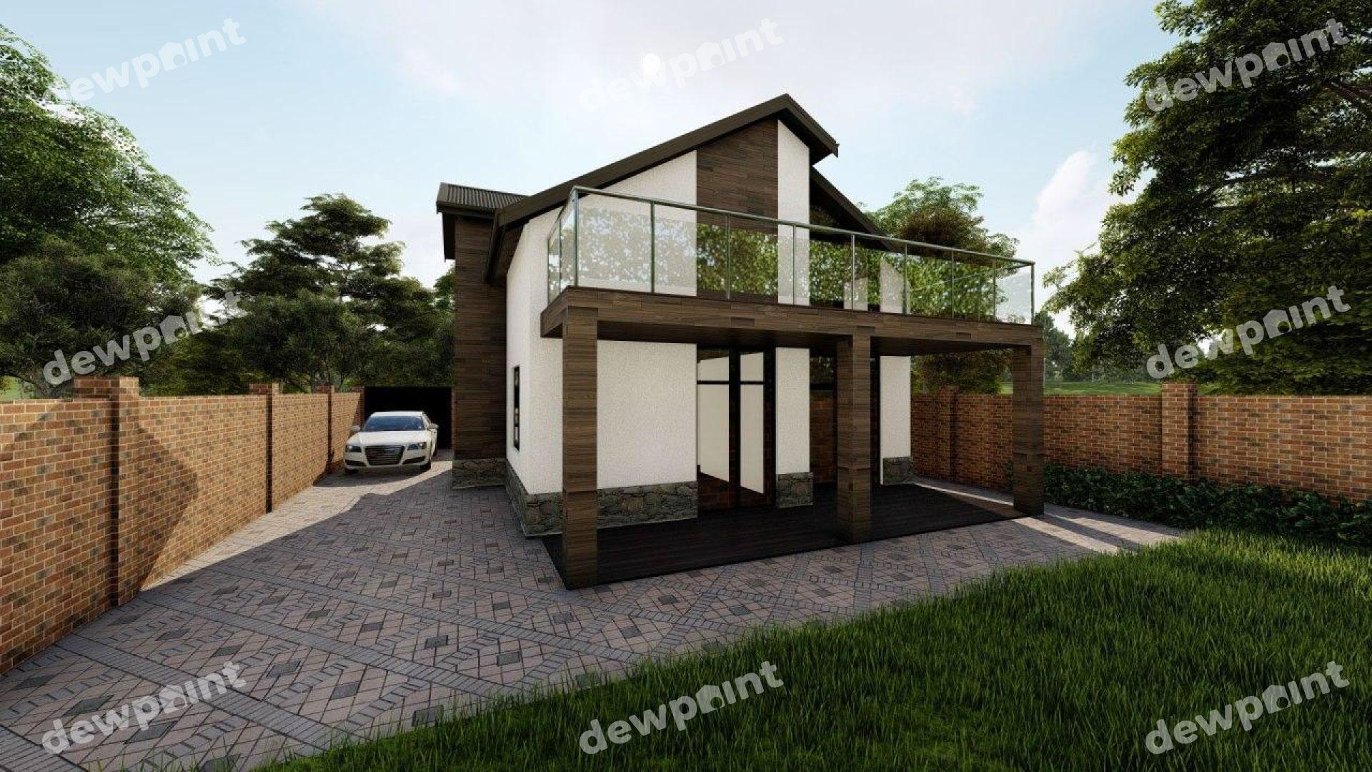 Проект дома ДП-26 фото 14284
