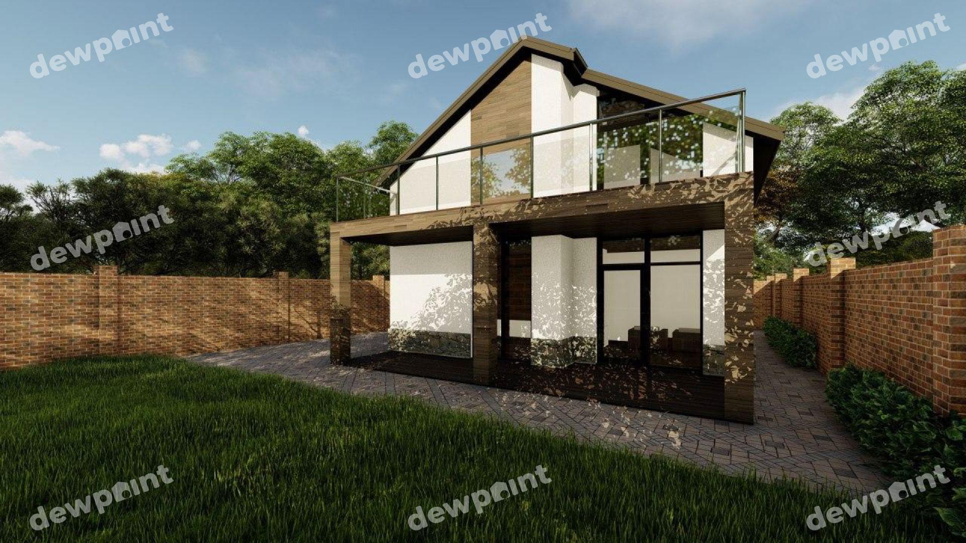 Проект дома ДП-26 фото 14283