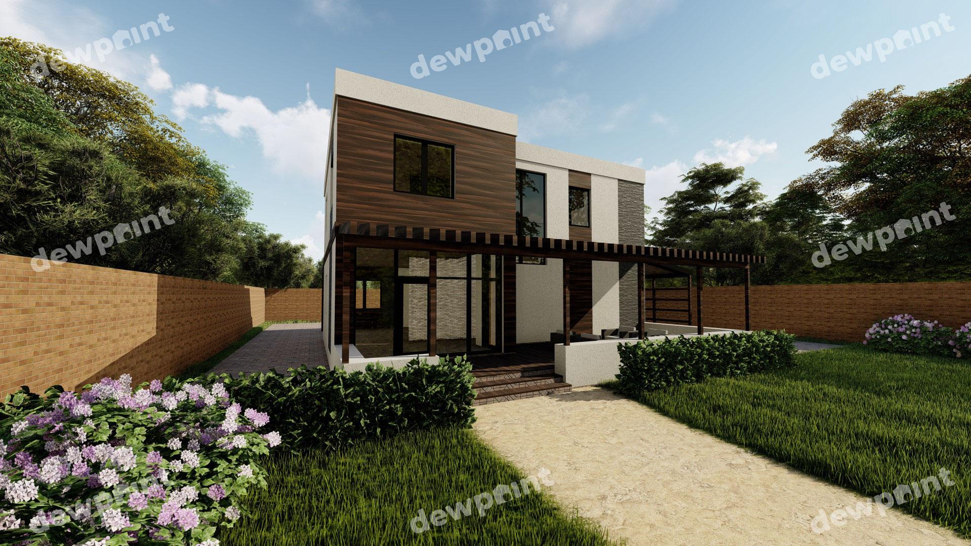 Проект дома ДП-25 фото 135674