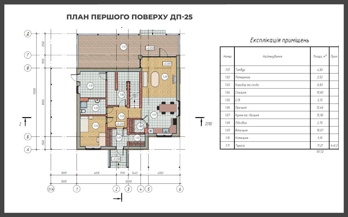 Проект дома ДП-25 фото 268546
