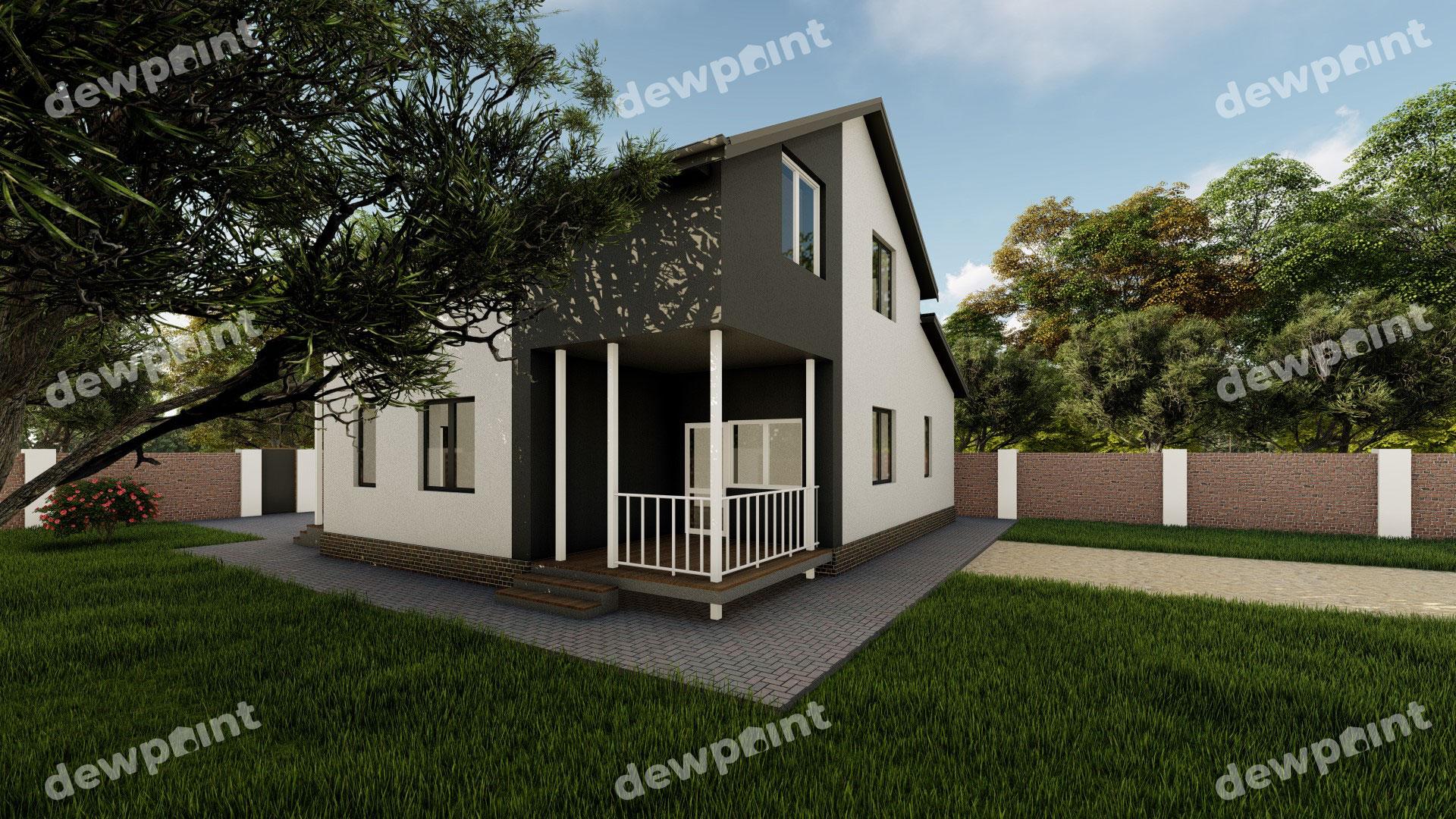 Проект дома ДП-30 фото 29883