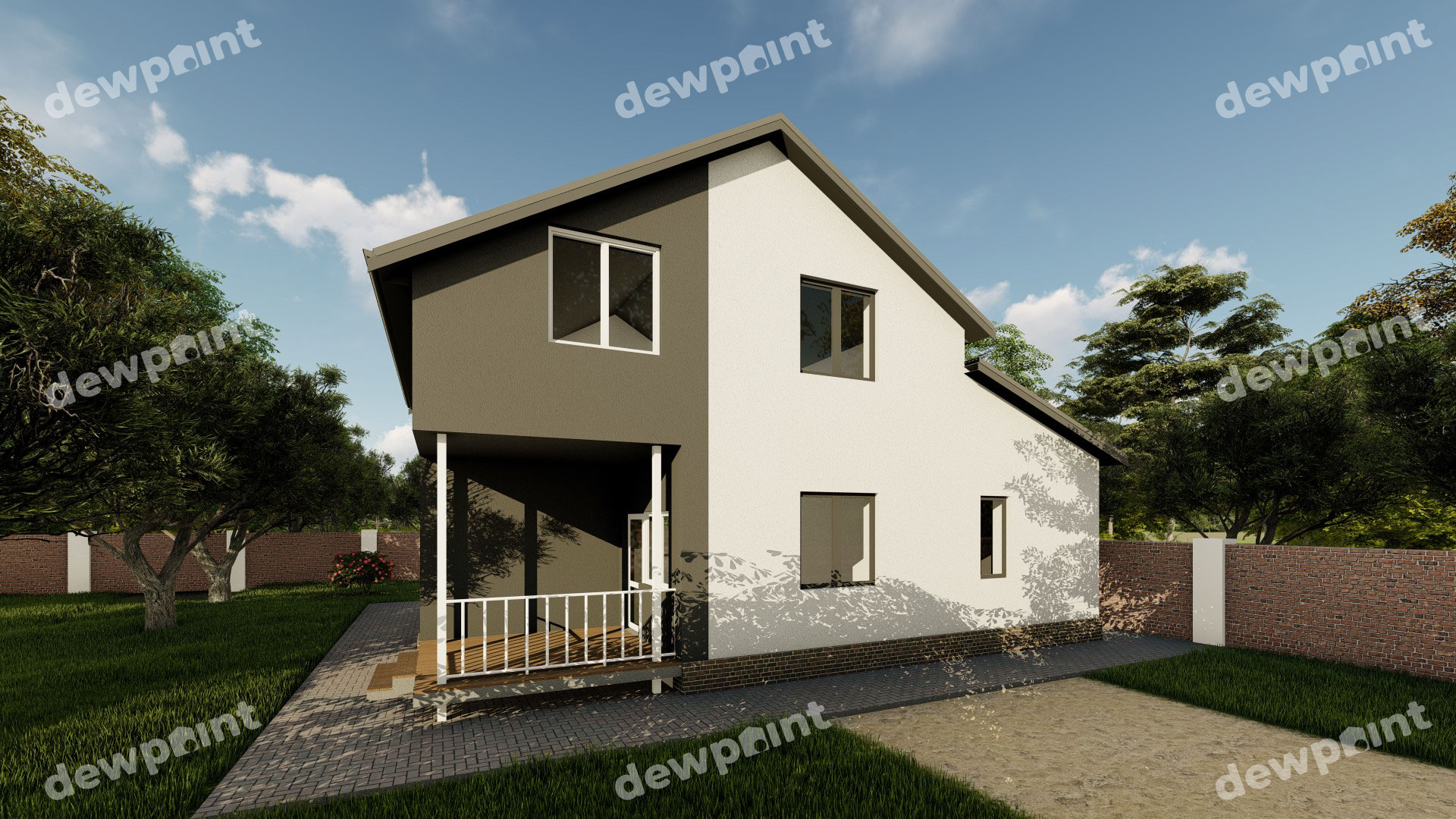 Проект дома ДП-30 фото 264425