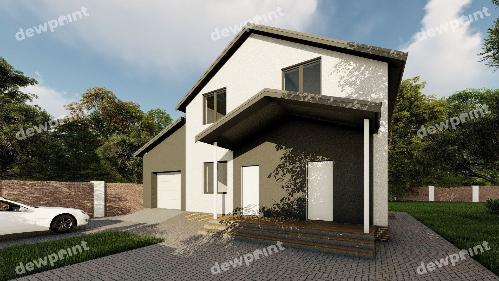 Проект дома ДП-30 фото 264424