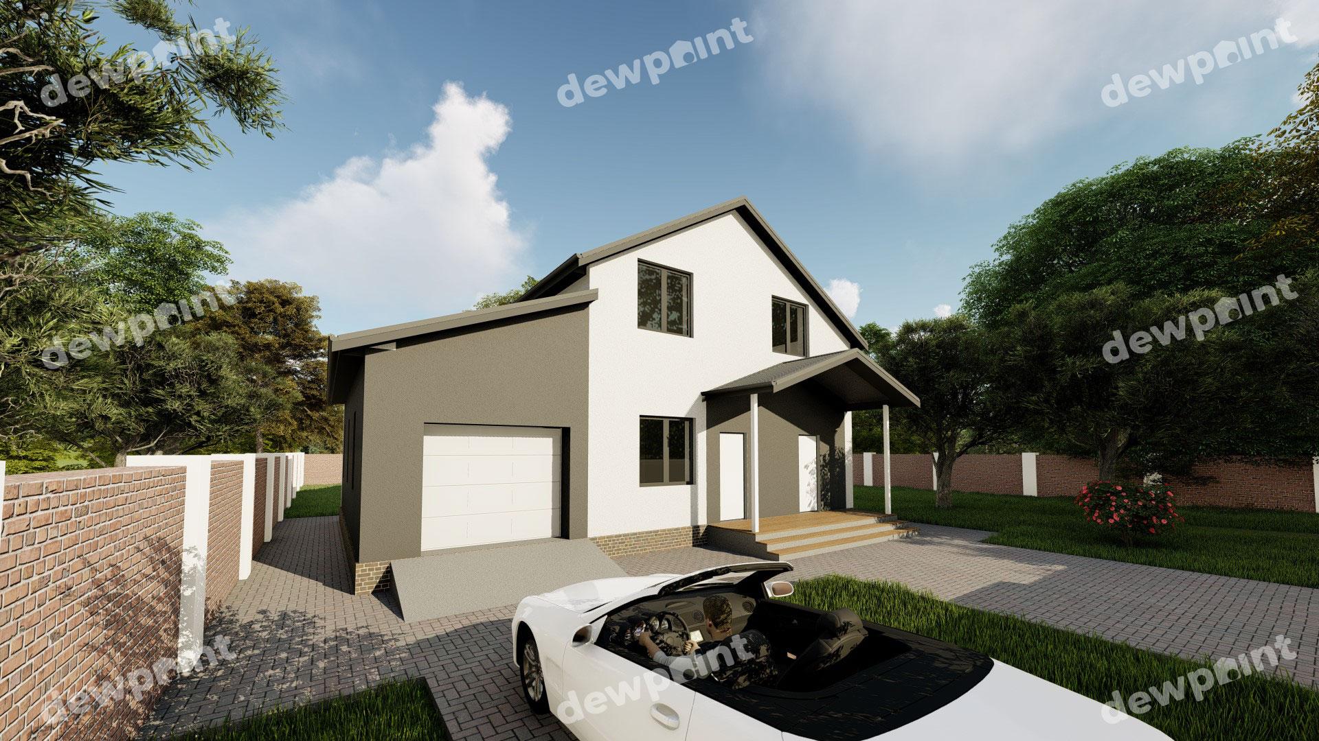 Проект дома ДП-30 фото 264423